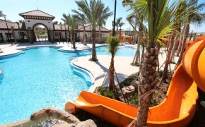 Solterra Resort Orlando Clubhouse, Pool and Water-Slide